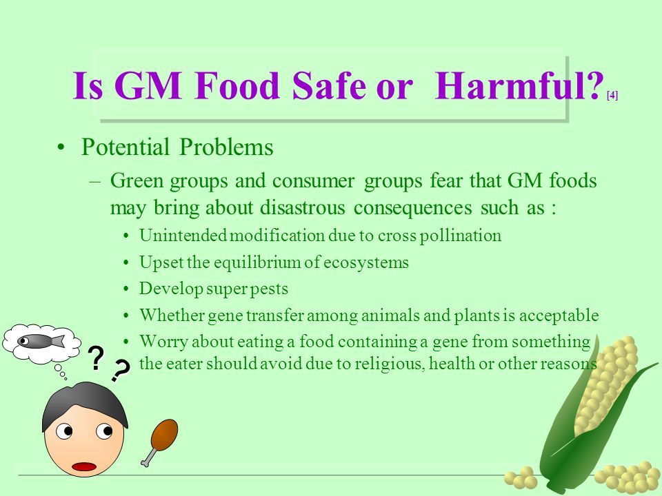 Is GM Food Safe or Harmful [4]